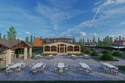 Фотореалистичная 3D визуализация экстерьера Вашего дома 267 - kwork.ru