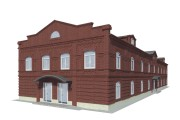 Визуализация экстерьера, фасадов здания 43 - kwork.ru