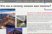 Создание сайта - Landing Page на Тильде 351 - kwork.ru