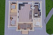 Фотореалистичная 3D визуализация экстерьера Вашего дома 297 - kwork.ru