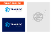 Разработка логотипа для сайта и бизнеса. Минимализм 158 - kwork.ru