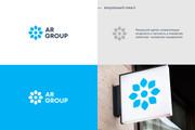 Разработка логотипа для сайта и бизнеса. Минимализм 128 - kwork.ru