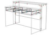 Конструкторская документация для изготовления мебели 242 - kwork.ru