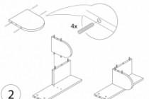 Схема, инструкция сборки мебели 74 - kwork.ru