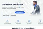 Скопировать Landing page, одностраничный сайт, посадочную страницу 178 - kwork.ru