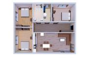 Фотореалистичная 3D визуализация экстерьера Вашего дома 323 - kwork.ru