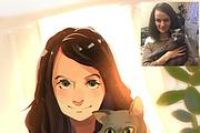 Создам ваш портрет в стиле аниме 81 - kwork.ru
