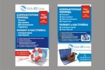 Постер, плакат, афиша 58 - kwork.ru
