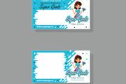 Дизайн визитки 124 - kwork.ru
