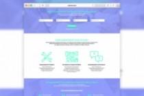 Дизайн лендинга в Figma, Sketch, PSD, XD 22 - kwork.ru