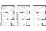 Планировка квартиры или жилого дома, перепланировка и визуализация 154 - kwork.ru