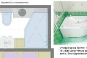 Планировочные решения. Планировка с мебелью и перепланировка 191 - kwork.ru