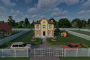 Фотореалистичная 3D визуализация экстерьера Вашего дома 364 - kwork.ru