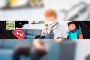 Оформление канала на YouTube, Шапка для канала, Аватарка для канала 134 - kwork.ru