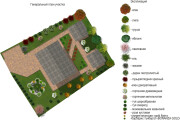 Проект ландшафтного дизайна участка 31 - kwork.ru