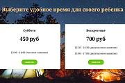 Создание сайта - Landing Page на Тильде 230 - kwork.ru