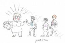 Быстро нарисую веселые иллюстрации 116 - kwork.ru