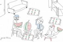 Быстро нарисую веселые иллюстрации 135 - kwork.ru