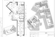 Разработка 3 вариантов планировки квартиры 31 - kwork.ru