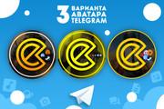 Оформление Telegram 95 - kwork.ru