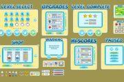 Готовые 2D Assets для Unity, 2D Анимации 27 - kwork.ru