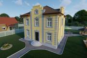 Фотореалистичная 3D визуализация экстерьера Вашего дома 363 - kwork.ru