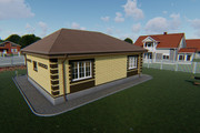 Фотореалистичная 3D визуализация экстерьера Вашего дома 372 - kwork.ru