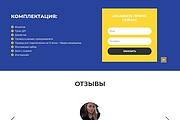 Сайт под ключ. Landing Page. Backend 503 - kwork.ru