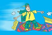 Оперативно нарисую юмористические иллюстрации для рекламной статьи 162 - kwork.ru