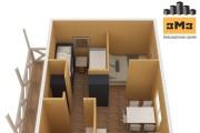 3D Моделирование навеса + визуализация 65 - kwork.ru