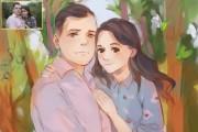 Создам ваш портрет в стиле аниме 128 - kwork.ru