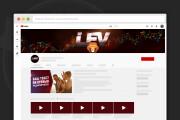 Сделаю оформление канала YouTube 203 - kwork.ru