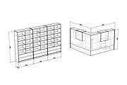 Визуализация мебели, предметная, в интерьере 121 - kwork.ru