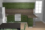 Создам 3D дизайн-проект кухни вашей мечты 33 - kwork.ru