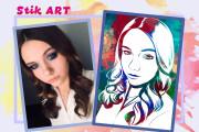 Нарисую портрет в стиле Pop Art,Comics Art, Stik Art 74 - kwork.ru