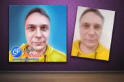 Цифровой портрет 34 - kwork.ru