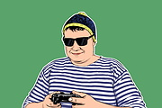 Качественный поп-арт портрет по вашей фотографии 81 - kwork.ru