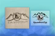Логотип по вашему эскизу 141 - kwork.ru