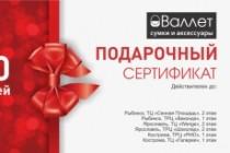 Макет визитки 67 - kwork.ru