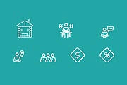 Нарисую векторные иконки для сайта, соц. сетей, приложения 31 - kwork.ru