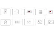 Нарисую векторные иконки для сайта, соц. сетей, приложения 30 - kwork.ru