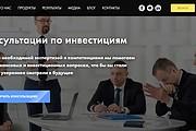Создание сайта - Landing Page на Тильде 262 - kwork.ru