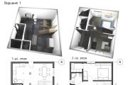 Планировка и перепланировка квартиры 12 - kwork.ru