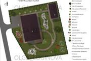 Проект ландшафтного дизайна участка 32 - kwork.ru