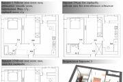 Планировка и перепланировка квартиры 9 - kwork.ru