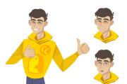 Создание персонажа или маскота 10 - kwork.ru