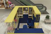 3D моделинг и визуализация торгового острова 10 - kwork.ru
