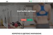 Создание одностраничника на Wordpress 263 - kwork.ru