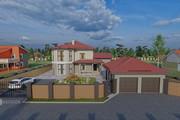 Фотореалистичная 3D визуализация экстерьера Вашего дома 262 - kwork.ru