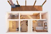 Оцифровка плана этажа, перечерчивание плана дома в Archicad 26 - kwork.ru